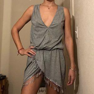 Dresses & Skirts - GRAY COVERUP DRESS